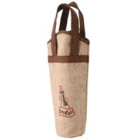 ファンヴィーノ 麻ワインバッグ1本用 ワンポイント 10個セット 7125