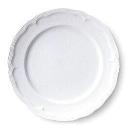 【業務用食器】クリスタ・白 23cmミート【ホテル】【レストラン】【カフェ】