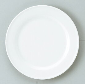 【業務用食器】ダイヤセラムホワイト リム23cmミート【お値打ち価格のスタンダードシリーズ】【強化白磁】【ホテル】【レストラン】【カフェ】【アウトレット込み】