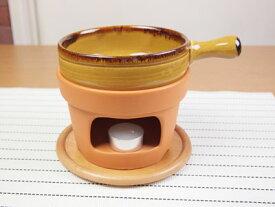 【直火】ラ・プシェロ 5吋片手キャセロール【鍋】【耐熱】【陶器】