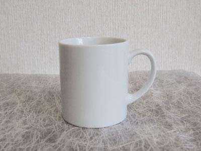 【白い食器】白 ストレートマグL【マグカップ】【陶器】