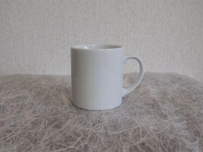 【白い食器】白 ストレートマグS【マグカップ】【陶器】