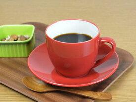 【赤い食器】コロール・レッド マグカップ【コーヒーカップ】【カプチーノカップ】【スペインバル】【カフェ】
