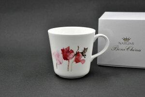 いわさき ちひろマグ(シクラメンと猫)[マグカップ]