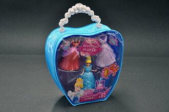 迪士尼公主魔術剪輯衣服袋 (灰姑娘) kisekae、 穿衣服、 玩偶、 娃娃