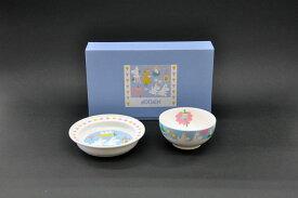 ムーミン(Moomin]プレート&ボウルセット(パステル)[子供食器][こども食器][お祝い][出産祝い]