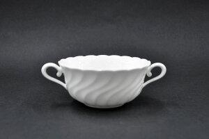 [NIKKO(ニッコー)]WHITE ELEGANCE(ホワイトエレガンス) クリームスープ碗(270cc) [スープカップ][コンソメカップ][ブイヨンカップ]FINE BONE CHINA(ファインボーンチャイナ)NIKKO SINCE1908[箱なし商品]【おす