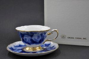 大倉陶園 ローズカップコレクション[ラ・フランス] ティー・コーヒー碗皿 (1客/碗皿)[カップ&ソーサー]