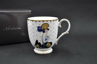 則武~Noritake~女士啤酒杯(erute)/H-620L[啤酒杯茶杯](LADY MUG)
