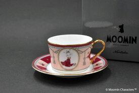 MOOMIN(ムーミン)-- ムーミン谷の夏まつり --ティー・コーヒー碗皿[N-092L][カップ&ソーサー][1客]ノリタケ [Noritake]