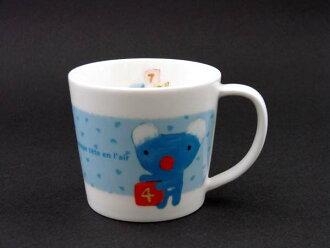 peneropemagu M(堆积,来的蓝色)/微波炉/洗碗机OK餐具/小孩餐具/杂货/小东西礼物/礼品/礼物