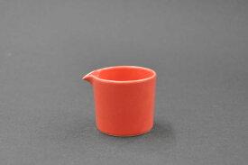 日常使いを提案するテーブルウェアシリーズCommon 波佐見焼食洗機・電子レンジOK!ミルクピッチャー[100ml]レッド[コモン][カフェ風][クリーマー][ミルク入れ]ミルクポット][ソース入れ][ドレッシング入れ][ドレッシング][陶器][雑貨]