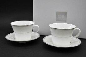 [NIKKO(ニッコー)] PEARL SYMPHONY(パールシンフォニー)ペア兼用碗皿 [260cc]カップ&ソーサーFINE BONE CHINA (ファインボーンチャイナ)NIKKO SINCE1908【送料無料】