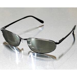 老眼鏡付き ミラーコート サングラス 老眼鏡 おしゃれ 偏光サングラス シニアグラス リーディンググラス 父の日 敬老の日 ギフト プレゼント 送料無料 メンズ UVカット 偏光 偏光レンズ バネ