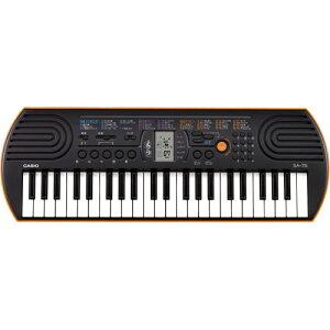 カシオ・ミニキーボード SA-76 送料無料 キーボード ピアノ キーボードピアノ 44鍵盤 子供 こども 鍵盤 楽器 鍵盤楽器 CASIO ミニ鍵盤 ミニキーボード 電子キーボード カシオキーボード 電子楽
