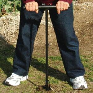スクリュースコップ 穴掘り ポール 送料無料 穴掘り器 穴掘り機 穴 堀り機 スコップ 手動 穴掘りスコップ シャベル 目盛り付き 穴の深さ 杭打ち 家庭菜園 ガーデニング 苗植え 支柱穴あけ