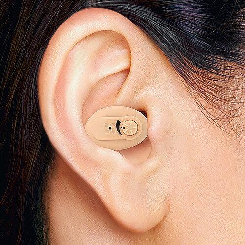 ニコン エシロール(NEF-05) 耳穴型補聴器(2個組)【電池48個プレゼント】【両耳 小型 目立たない 補聴器 集音器 ニコン補聴器 耳あな 軽度 難聴 敬老の日 父の日 母の日】【送料無料】