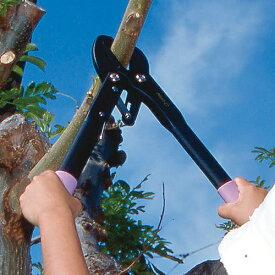 力のいらない太枝切り鋏「スーパーラチェットパワー」 【枝切り バサミ ラチェット ED-41】