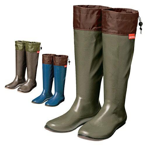 携帯できる防水ブーツ 【防水 靴 持ち運び 折り畳み レインブーツ 長靴 メンズ レディース】