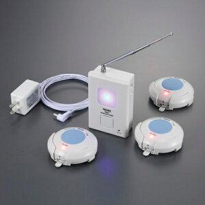 ワイヤレス呼び出しチャイム(通販限定セット) 防水 お風呂 浴室 屋外 ブザー 緊急 X810R 送料無料 呼び出しベル 呼び出しボタン 緊急呼び出しボタン 呼び出し チャイム ボタン 押しボタン式
