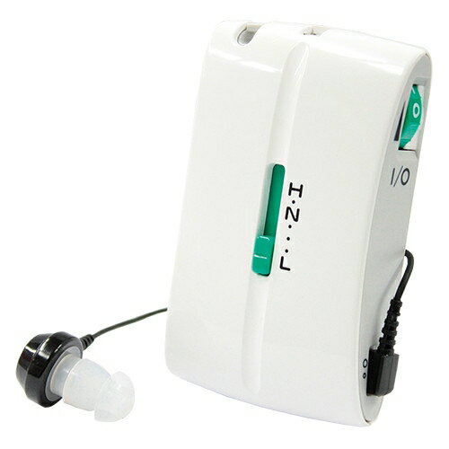 ポケット型補聴器「ポッケセルワン」【ポケット型 乾電池式 補聴器 集音器 ミミー電子 ポッケsel1】【送料無料】