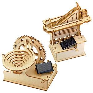 遊べて学べる木製パズル「マーブルマシン」らせん&かいだんセット
