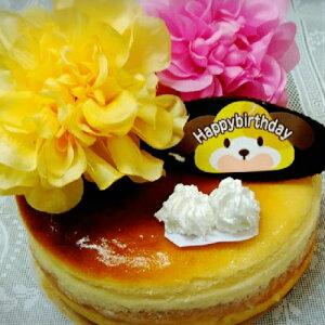 フラワークリームチーズケーキ