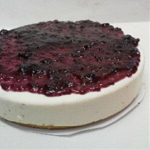 [ブルーベリー レアーチーズケーキ ]相性抜群、ブルーベリーソースを練りこみ、トッピングしました。チーズケーキと相性抜群のブルーベリーを低カロリー(カロリーオフ)でサッパリあ