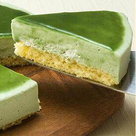 [ 抹茶 レアー チーズケーキ ]さっぱりした新緑の抹茶の味。御年配者への贈り物として最適ですよ。