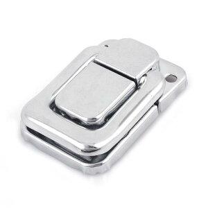 uxcell ケースロックフック ラッチ パッチン錠 スーツケースロックバックル 家庭用ハードウェア メタル製