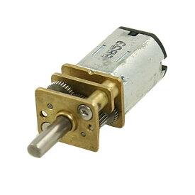 uxcell DC ギヤードモータ ミニ DC ギアボックスモーター シャフト 400RPM 6V 0.45A