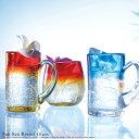 【全品 送料無料 】グラス ビアグラス ペア コップ ガラス 縞 硝子 ビードロ びーどろ ギフト プレゼント デザイン おしゃれ 博多びーどろ クリスマス