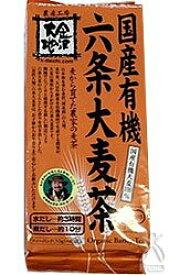 金沢大地 有機六条麦茶 (ティーバッグ) 400g(10g×40袋)