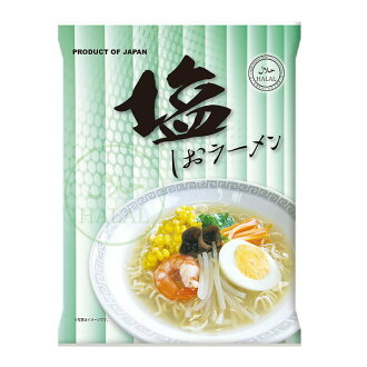 Domestic halal instant salt ramen 80 g