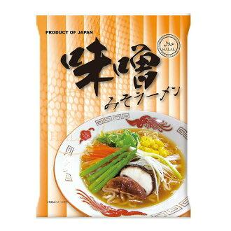 Domestic halal instant miso ramen 80 g