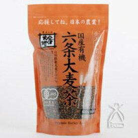 金沢大地 金沢戸室石焙煎 六条大麦茶 500g