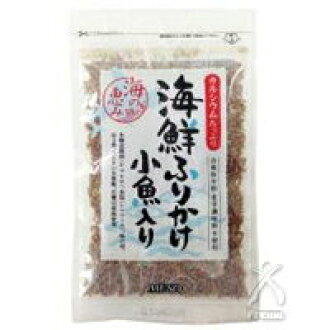 Be seafood sprinkle and small fish with 40 g
