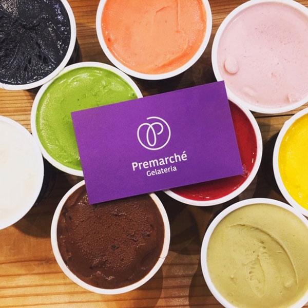 【Premarche Gelateria】 Juggling gelato ジェラート・セット 〜いろいろ試してみたい方へ!〜 各120cc×12個入り