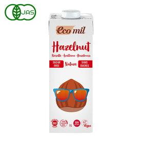 EcoMil(エコミル) 有機ヘーゼルナッツミルク (無糖) 1000ml