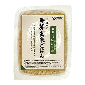 オーサワジャパン 雑穀入り発芽玄米ごはん(1ケース) 160g×20個