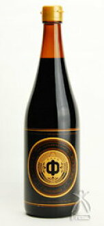 酱油(丸中酱油)黑色标签圆中的720ml
