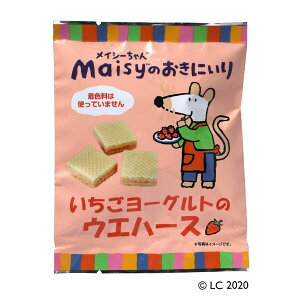 【5袋セット】メイシー いちごヨーグルトのウエハース 12個×5袋