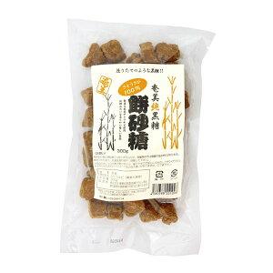 奄美自然食本舗 奄美純黒糖餅砂糖 300g
