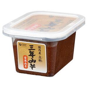 オーサワジャパン 国内産 立科三年みそ 玄米 300g