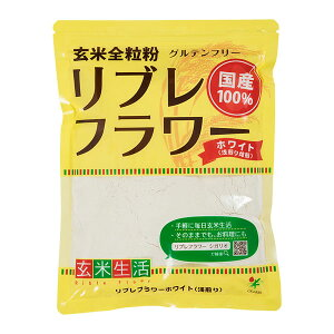 活性玄米微粉末 リブレフラワーホワイトタイプ 500g×20袋入