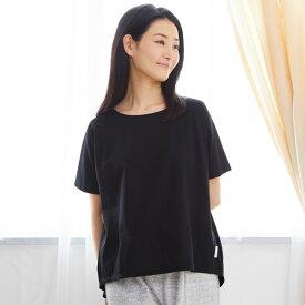 Liflance(リフランス) コンフォートドライTシャツ レディース ブラック/M-L