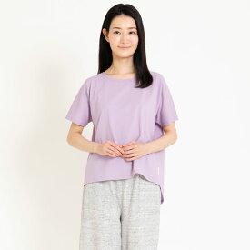 Liflance(リフランス) コンフォートドライ Tシャツ レディース ラベンダー/M-L