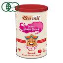 EcoMil(エコミル) 有機アーモンドミルクストレート (パウダー/砂糖不使用) 400g