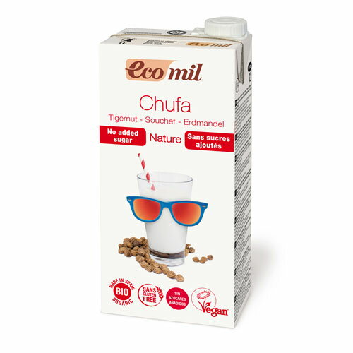 EcoMil (エコミル) 有機 タイガーナッツミルク (糖類無添加) 1000ml