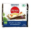 ミトク PEMA(ペーマ)有機全粒ライ麦パン(プンパーニッケル) 375g(7枚入)